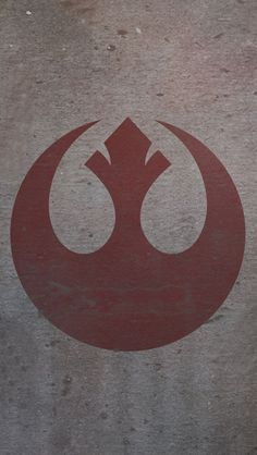 ↑↑TAP AND GET THE FREE APP! Art Creative Rebel Alliance Logo Star Wars HD iPhone Wallpaper