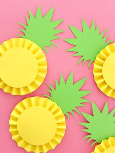 PINEAPPLE ROSETTES WITH FREE CUT FILE