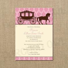 Her Royal Highness Princess Birthday Invitation by PerchedOwl, $12.00