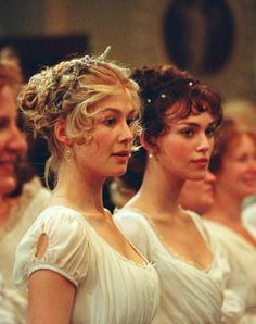 The Bennett Sisters; I love their dresses!!!!