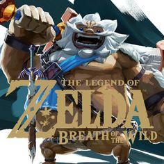 The Legend Of Zelda Breath Of The Wild - Daruk