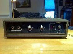 Vintage Univox UB250 UB 250 Bass Amp Head Works | eBay