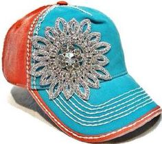 Re-Stocked several styles and colors of the Fancy Bling Caps $40 Free Shipping www.rhinestonesnrodeo.com