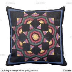 Quilt Top 2 Design Pillow