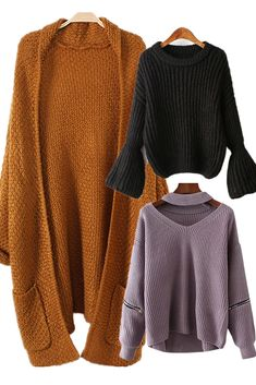 Knitwear | Jumpers, Cardigans, Sweaters and Knits |  Zaful fashion for you
