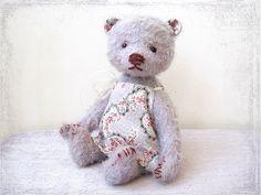 Artist Teddy Bear girl Mary OOAK lilac gentle lavender
