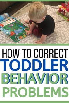 Don't let the first day of toddler discipline be overwhelming. Start small with correcting just a few toddler behaviors! Here's how to make a plan and stick to it! #baby #toddler #toddlerbehavior #toddlerdiscipline #momlife Two Years Old Activities, Toddler Behavior Problems, Toddler Language Development, Kids And Parenting, Parenting Ideas, Train Up A Child, Terrible Twos, Toddler Discipline, Baby Care Tips