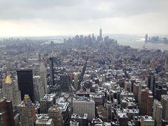 New York depuis rockefeller center