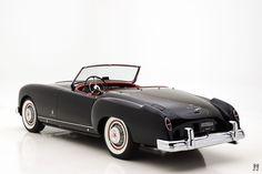 1954 nash-healey pinin farina roadster