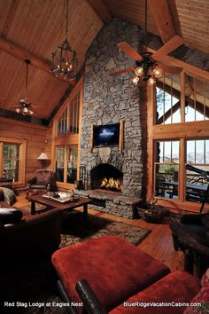 Small Cottage House Plans, Cottage Homes, Air Hockey, Big Bear, Log Homes, Game Room, Luxury Homes, Barn, Decor Ideas