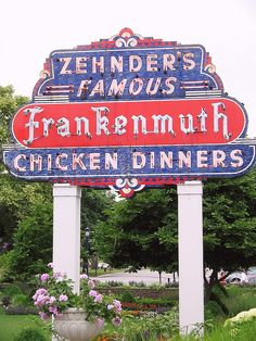 Zehnder's Famous Chicken Dinners....Frankenmuth, Michigan