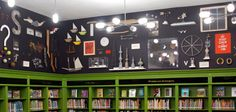 Like the bookshelves around the lower portion of the room to make your own library!