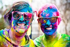 So in each city they visit, the Color Run partners with a local charity to support. They have teamed up with children's hospitals, Habitat for Humanity, the Ronald McDonald House and local food pantries to make a difference.