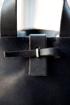 M.A leather bag