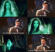Then again, I just love Eleven/the Doctor/Matt Smith (: Doctor Who Funny, Fish Sticks, Steven Moffat, Movie Shots, Rory Williams, Female Doctor, Don't Blink, Eleventh Doctor, Dalek