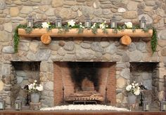 mantelpiece-flowers-at-The-Ponds