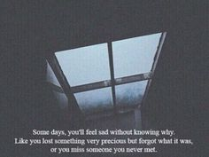 Then you'll realize, that it's inside you. No one was ever yours to miss. ~Anika