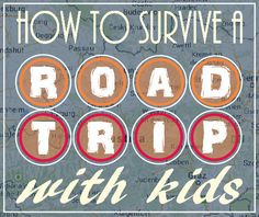 useful tips on what to do or not to do when preparing for a long drive with kids!