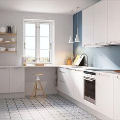 Metris er en nett og kompakt kjøkkenmodell med slette fronter og integrerte grep. Metris gjør det lett å skape et funksjonelt og minimalistisk kjøkken, med en hyggelig, sosial og intim atmosfære.