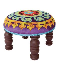 Save Now on this Purple Footstool by Karma Living on #zulily today!