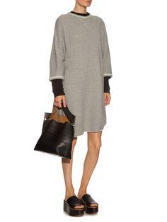 Oversized cotton-jersey sweater dress | Yohji Yamamoto Regulation | MATCHESFASHION.COM UK