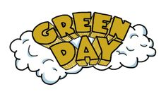 Estimated to ship in 14 days Green Day Burnout T-Shirt in white. All graphics are hand drawn and inspired by the Dookie Album. Green Day Logo, Green Day Shirt, Green Day Band, Green Day Tattoo, Green Day Dookie, Hello Green, Band Stickers, Phone Stickers, Rock Band Logos