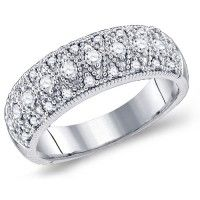 Diamond Band Fashion Rings Hands Fashion Diamond Rings