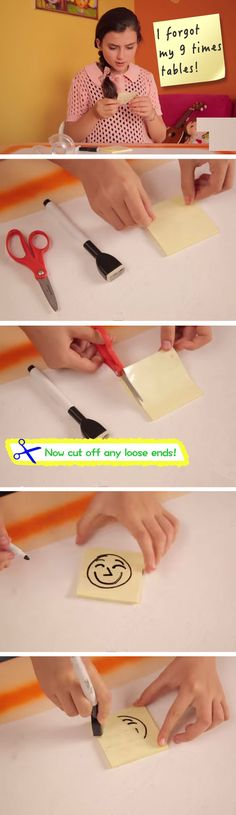 Make A Dry Erase Board with Tape + Sticky Notes | DIY Life Hacks for Girls for School