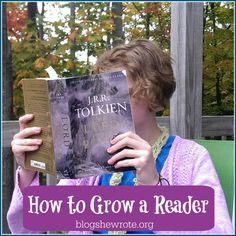 How to Grow a Reader | via Blog She Wrote @blogshewrote #ihsnet #booksandreading #homeschooling