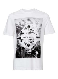 White Cancun Print T-Shirt - Men's T-shirts & Tanks - Clothing - TOPMAN USA