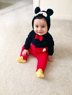 halloween costume on a budget sorcerer mickey mouse halloween pinterest mickey mouse costumes and budget - Baby Mickey Mouse Halloween Costume