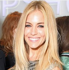 Loving Sienna Miller in this soft makeup. Smudged liner and dewy skin. Great bridal makeup inspiration.