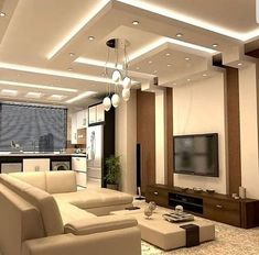 10 Modern Drawing Room Ceiling Designs With Pictures Drawing Room Ceiling Design, Gypsum Ceiling Design, Interior Ceiling Design, Drawing Room Interior, House Ceiling Design, Ceiling Design Living Room, Bedroom False Ceiling Design, Home Ceiling, Living Room Designs