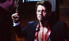 Why is tortured Cas super hot? #castiel #supernatural