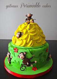 Periwinkle Cakes: Go Bananas!
