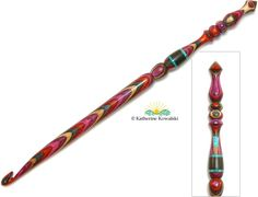 Daystar Handworks by Katherine Kowalski - Gallery of Crochet Hooks, Spinning Tools, Hair Jewelry