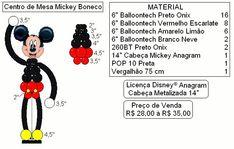 CENTRO DE MESA MICKEY PASSO A PASSO - Pesquisa Google