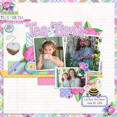 GingerScraps :: Kits :: Time for Tea by Clever Monkey Graphics