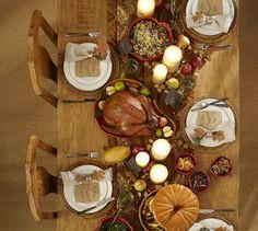 Thanksgiving Decor: Pottery Barn's Lidded Pumpkin Pie Dish