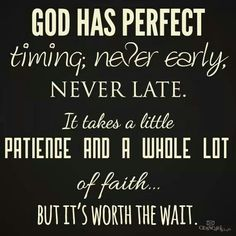 God's timing is perfect! Actually looking forward to the 2 job grind again. I am so thankful!!!