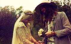 A Hippie wedding