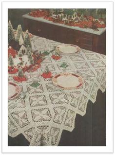 CHRISTMAS CHEER CROCHET PATTERN #2434