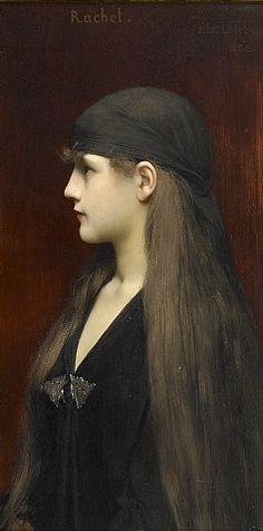 Rachel, Jules Joseph Lefebvre 1888