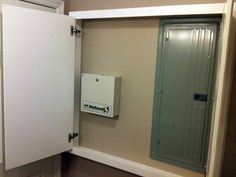 How To Hide An Electrical Utility Panel Jammer Six Room Designs