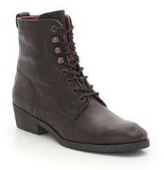 e2711befc Kickers Astralbis Lace-Up Leather Ankle Boots on shopstyle.co.uk