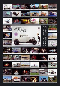 """Jetzt bestellen: Der Wochenkalender """"Girls & legendary US-Cars"""" 2014 von Carlos Kella 2014 mit 52 (!) Kalenderblättern im DIN A3 Querformat und Wire-O-Bindung in schwarz // Gezeigt werden mehr als 30 US-Cars-Raritäten und 22 Modelle // Preis 29,90 zzgl. Versandkosten // Webshop weitere Infos: www.sway-books.de (Versand Deutschland) // www.ars-vivendi.de (Versand Ausland)"""