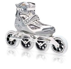 Rollerblade Women's Temptest 100 Skate by Rollerblade. $199.95. Designed and built for the serious fitness skater looking to strengthen their skating, and participate in advanced fitness training activities. Rollerblade has created this pair of Tempest 100 Inline Skates just for women. The new slimmer construction boot is soft and made of a fiber tech shell to provide you with durability along with a superior fit like no other. Fast, smooth and effortless is wha...