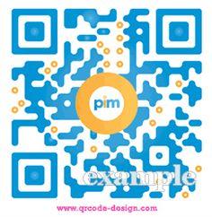 Pim QR code design