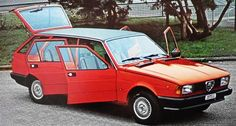 OG | 1981 Alfa Romeo Nuova Giulietta Giardinetta | Prototype designed by Carrozzeria Moretti