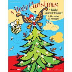 A Bugz Christmas (Teacher's Edition ) by Joh Christmas Skits, Christmas Program, 12 Days Of Christmas, Pta Programs, John Higgins, Music Classroom, Classroom Ideas, Teacher Blogs, Elementary Music